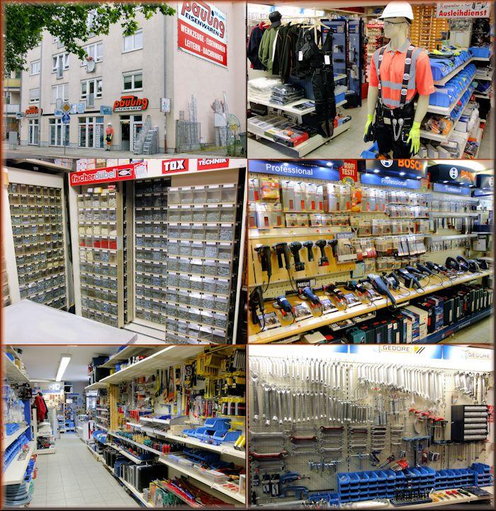 Unternehmen Pauling Eisenwaren und Werkzeuge aus Leipzig Fachhandel für Befestigungstechnik und Berufsbekleidung