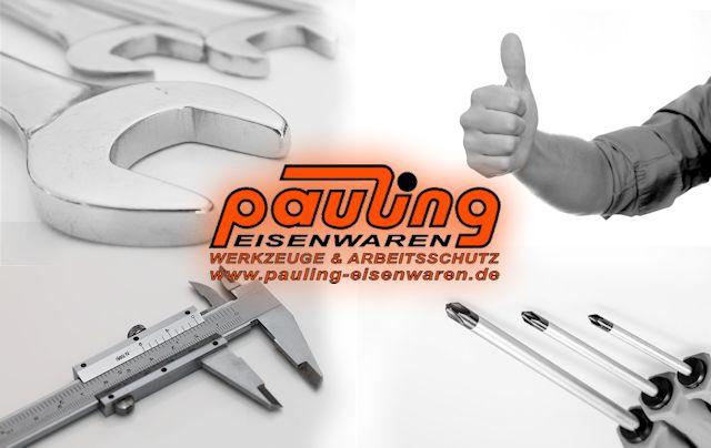 pauling Werkzeuge Leitern Beschläge Elektrowerkzeuge Leipzig günstig preiswert Schrauben Dübel