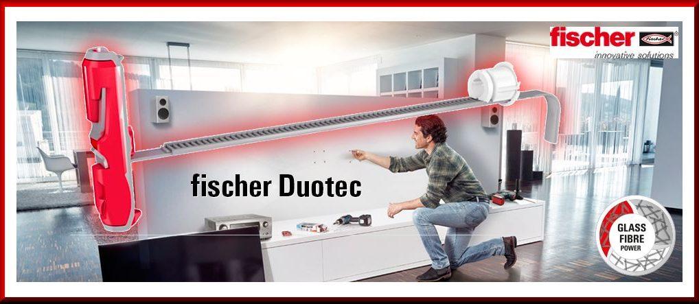 Fischer Nylon-Kippdübel DUOTEC