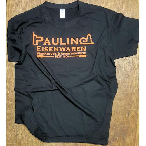 T-Shirt schwarz mit Pauling Brand