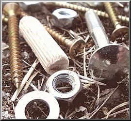 Befestigungstechnik wie Schrauben, Dübel, Muttern in Leipzig kaufen bei Pauling Eisenwaren wür führen auch Zollschrauben und Feingewindeschrauben