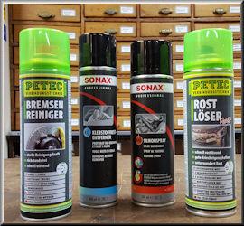 Werkstattmaterial, technische Sprays und Klebeband in Leipzig bei Pauling Eisenwaren, Werkzeuge, Berufsbekleidung und Arbeitsschutz