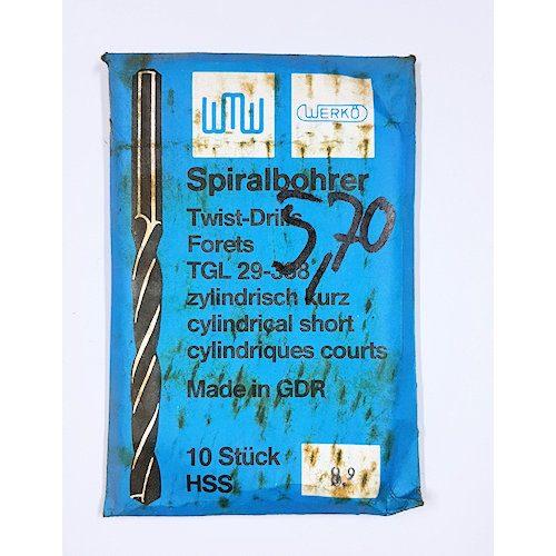 Spiralbohrer 8,9mm Werkö
