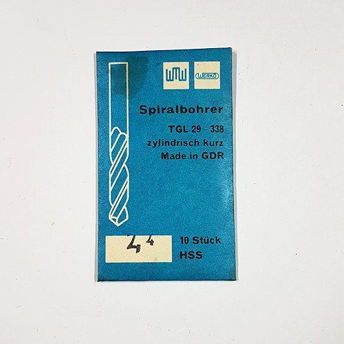 Spralbohrer 2,4mm DDR Werkö